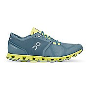 Womens On Cloud X Running Shoe - Niagara/Lime 9.5