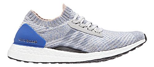Womens adidas Ultra Boost X Running Shoe - Grey/Blue 7.5