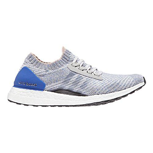 Womens adidas Ultra Boost X Running Shoe - Grey/Blue 7.5