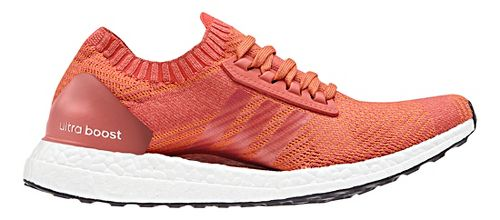 Womens adidas Ultra Boost X Running Shoe - Scarlet/White 8.5
