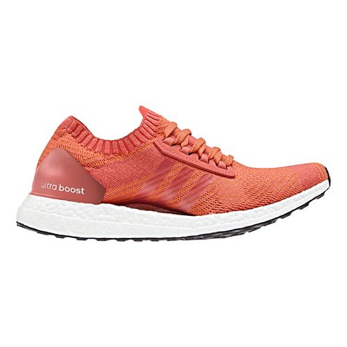 Womens adidas Ultra Boost X Running Shoe - Scarlet/White 8.5