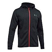 Mens Under Armour Swacket Novelty Full-Zip Running Jackets - Black XXL