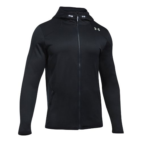 Mens Under Armour Reactor Full-Zip Cold Weather Jackets - Black XL-T