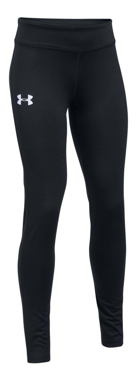 Under Armour Girls HeatGear Legging  Tights - Black YL