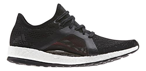 Womens adidas PureBoost X Element Running Shoe - Black 10.5