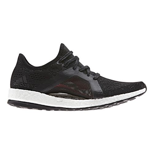 Womens adidas PureBoost X Element Running Shoe - Black 10.5