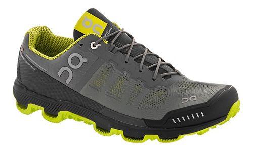 Mens On Cloudventure Trail Running Shoe - Grey/Sulphur 12.5