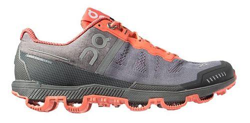 Womens On Cloudventure Trail Running Shoe - Grey/Lava 10