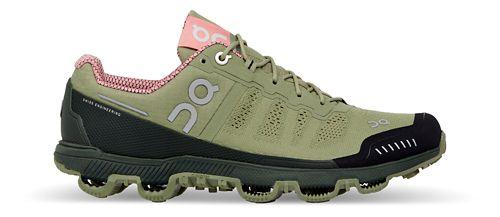 Womens On Cloudventure Trail Running Shoe - Green/Pink 6