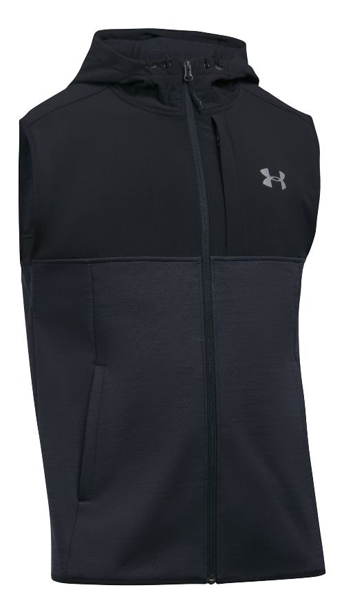 Mens Under Armour Swacket Vests Jackets - Black 3XL-T