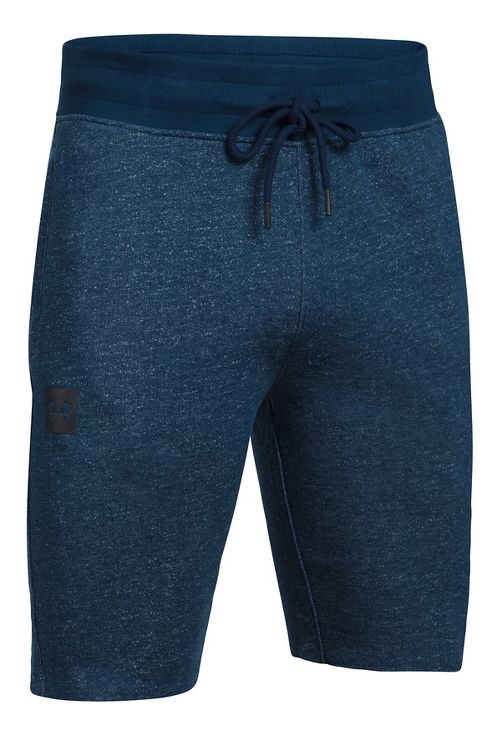 Mens Under Armour Sportstyle Terry Tapered Unlined Shorts - Academy L