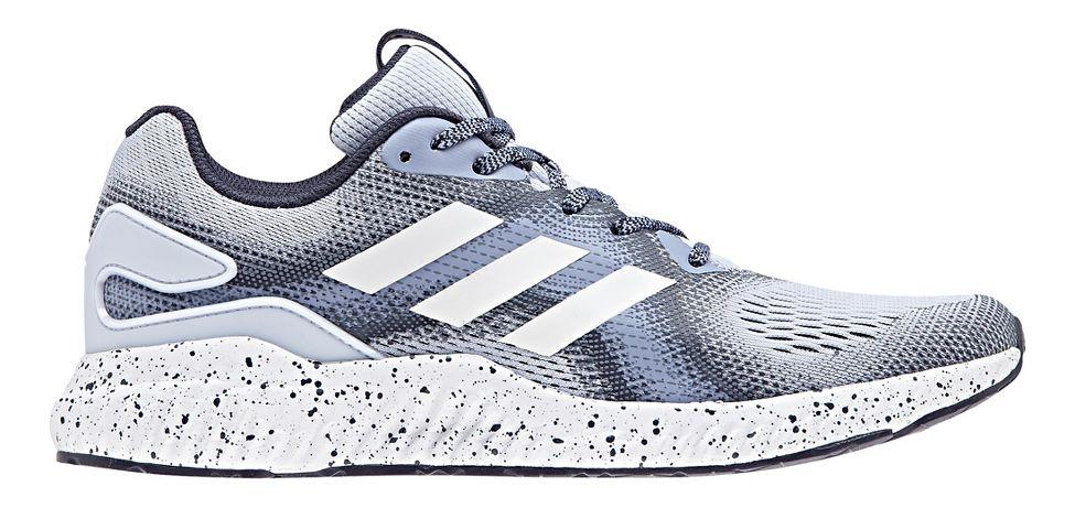 Womens adidas AeroBounce ST Running Shoe - Chalk Blue 9.5