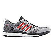 Mens adidas adizero Tempo 9 Running Shoe - Grey/Red 9