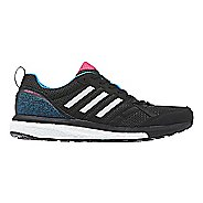 Womens adidas adizero Tempo 9 Running Shoe - Black/Blue 6.5