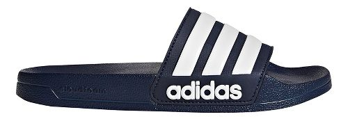 Men adidas Adilette CF Sandals Shoe - Navy/White 9