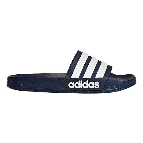 Men adidas Adilette CF Sandals Shoe - Navy/White 12