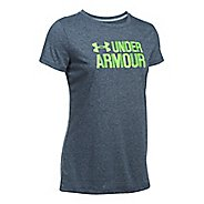 Womens Under Armour Threadborne Crew Neck-Mevo Short Sleeve Technical Tops