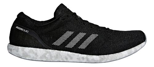 adidas adizero sub2 Running Shoe - Black/White 7.5