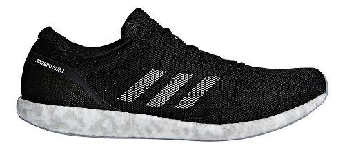 adidas adizero sub2 Running Shoe - Black/White 8