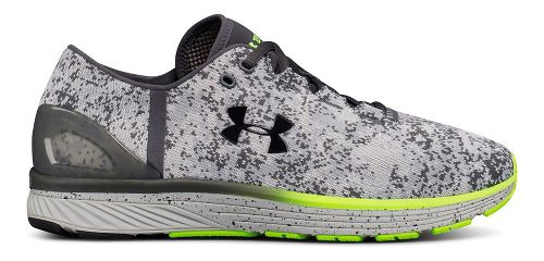 Mens Under Armour Charged Bandit 3 Digi Running Shoe - Overcast Grey/Grey 10.5