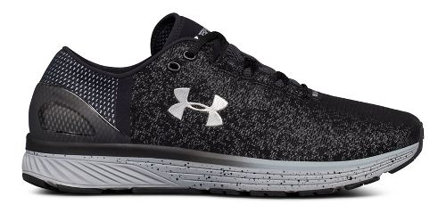 Mens Under Armour Charged Bandit 3 Reflect Running Shoe - Black/Steel 8