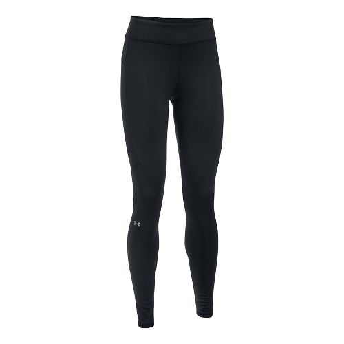 Womens Under Armour ColdGear Legging Compression Tights - Black L