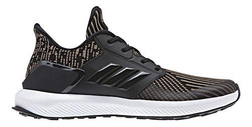Kids adidas RapidaRun Knit Running Shoe - Black/Gold 6Y