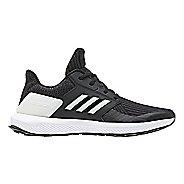 Kids adidas RapidaRun Knit Running Shoe - Black/White 5Y