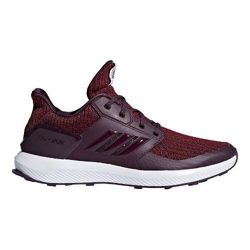 Kids adidas RapidaRun Knit Running Shoe - Red/Burgundy/White 5.5Y