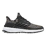 Kids adidas RapidaRun Knit Running Shoe - Black/Gold 2Y