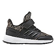 Kids adidas RapidaRun Knit Running Shoe - Black/Gold 9C