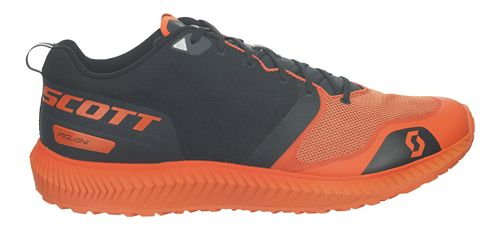 Mens Scott Palani Running Shoe - Black/Orange 9