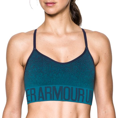Womens Under Armour Seamless Ombre Novelty Sports Bras - Midnight Navy/Blue M