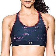Womens Under Armour Mid Reversible Sports Bras - Black/Midnight Navy L