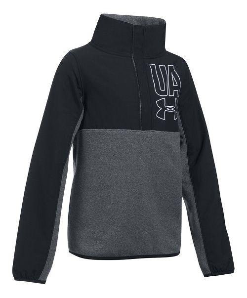 Under Armour Phenom Fleece 1/2 Snap Half-Zips & Hoodies Technical Tops - Apollo Grey YM