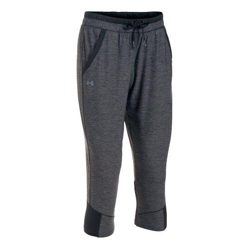 Womens Under Armour Sport Crop Pants - Black S