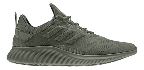 Mens adidas alphabounce city run Running Shoe - Base Green 9.5