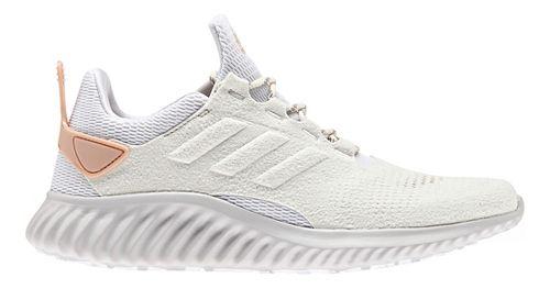 Womens adidas alphabounce city run Running Shoe - White/Pearl 8