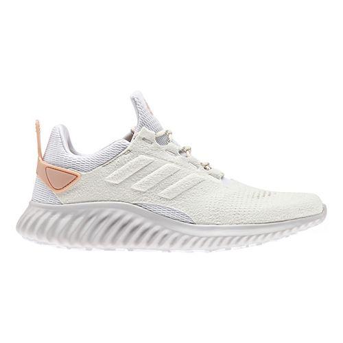 Womens adidas alphabounce city run Running Shoe - White/Pearl 11