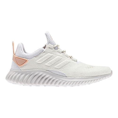 Womens adidas alphabounce city run Running Shoe - White/Pearl 7
