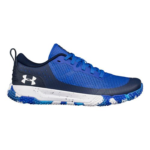 Kids Under Armour X Level MainShock Running Shoe - Blue 5Y