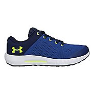 Kids Under Armour Pursuit Running Shoe - Blue/Yellow 4Y