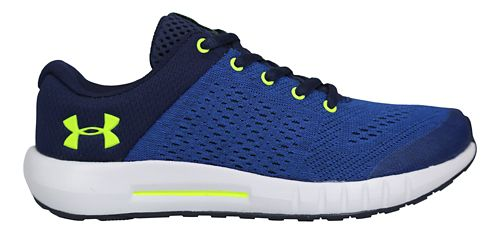 Kids Under Armour Pursuit Running Shoe - Blue/Yellow 3.5Y