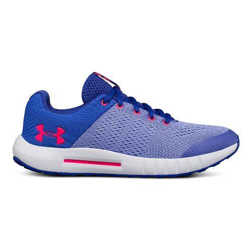 Kids Under Armour Pursuit Running Shoe - Purple 4.5Y