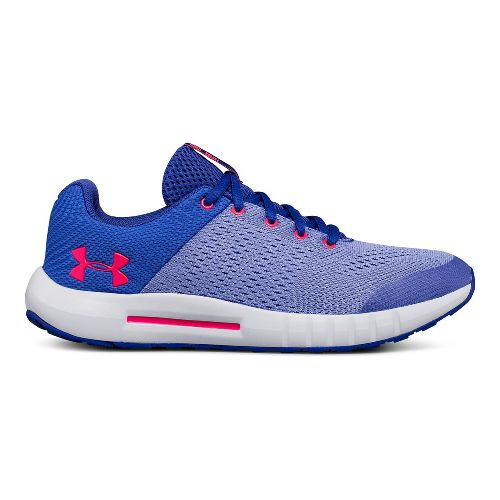 Kids Under Armour Pursuit Running Shoe - Purple 4Y