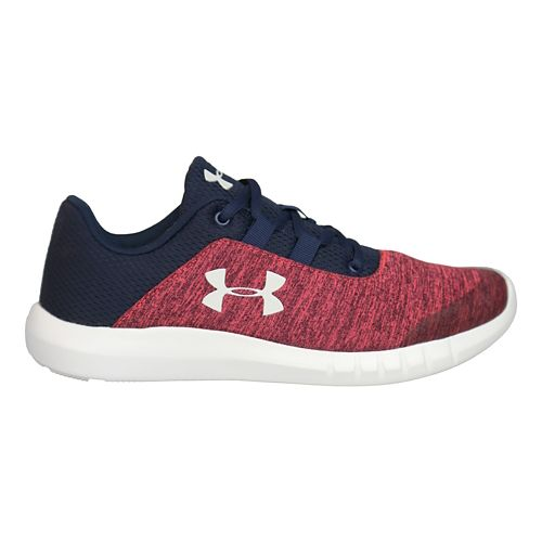 Kids Under Armour Mojo Running Shoe - Pink/Navy 5Y