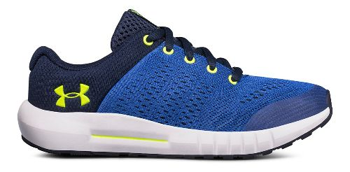 Kids Under Armour Pursuit Running Shoe - Blue/Yellow 3Y