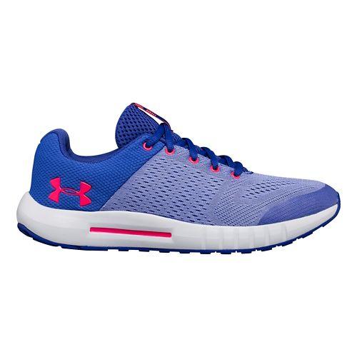 Kids Under Armour Pursuit Running Shoe - Purple 12C