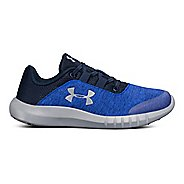 Kids Under Armour Mojo AL Running Shoe - Blue/Grey 1Y