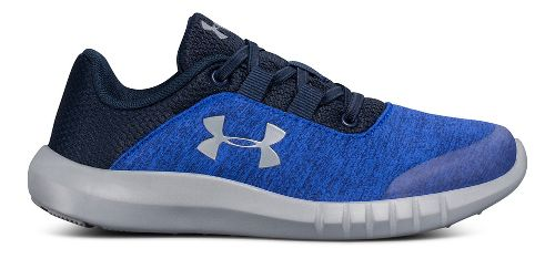 Kids Under Armour Mojo AL Running Shoe - Blue/Grey 11C